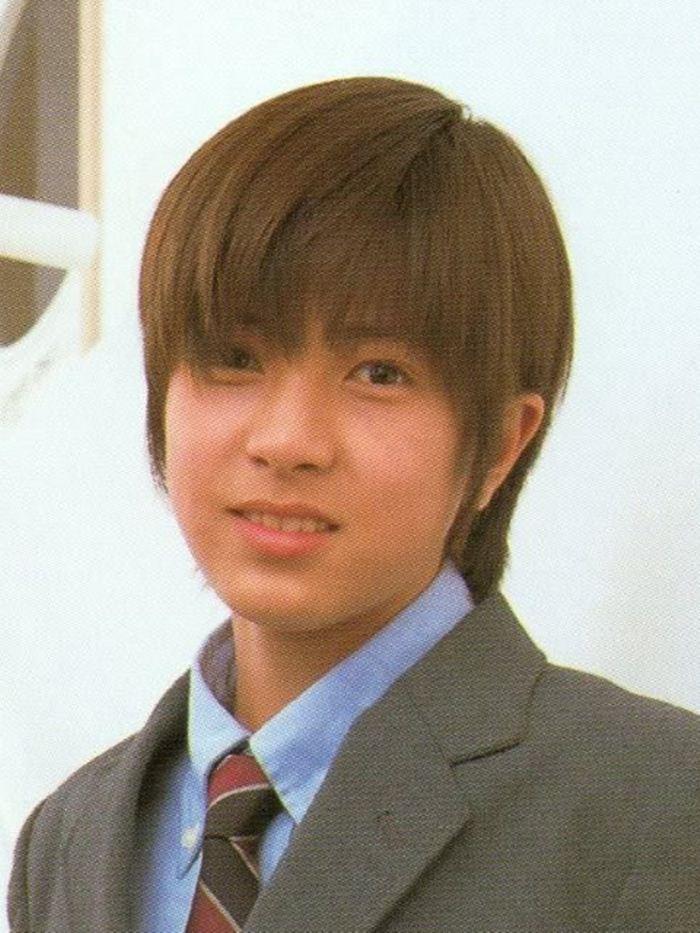 Tomohisa Yamashita Smile